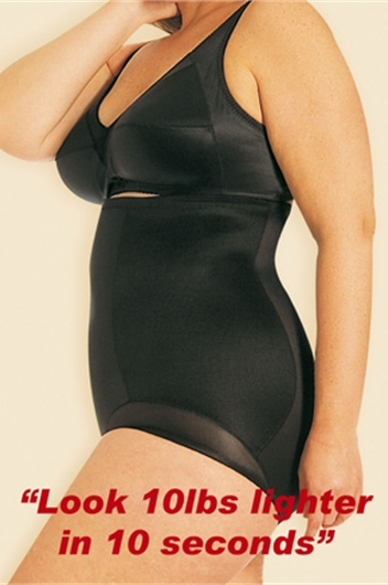 Miracle Suit Fuller Figure High Waist Control Brief