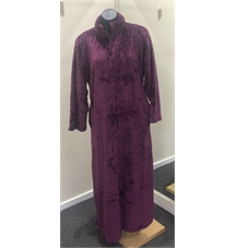 Pierre Cardin Beatrice Zipped Gown Plum